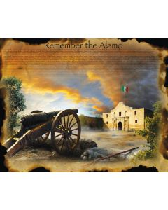 Remember the Alamo Jigsaw Puzzle