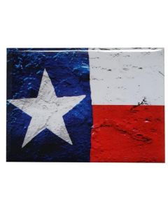 Distressed Texas Flag Magnet