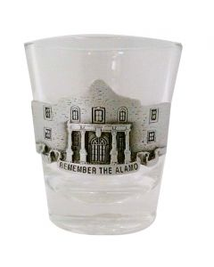 Remember the Alamo Shot Glass