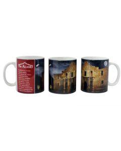 Alamo in Moonlight Mug