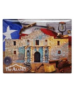 Alamo Collage Magnet