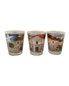 Alamo Collage Shot Glass