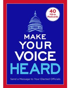 Make Your Voice Heard Postcard Book