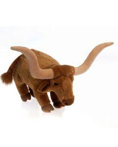 Plush Standing Longhorn Bull