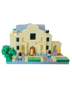 Mini Alamo Building Block Set