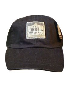 Black | The Alamo Vintage-Look Baseball Cap