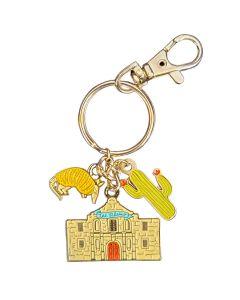 Alamo Charms Key Chain