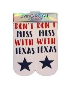 Don't Mess with Texas Socks