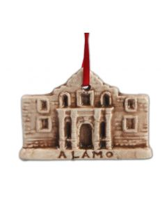 The Alamo Figurine Ornament