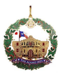 2021 Alamo Ornament