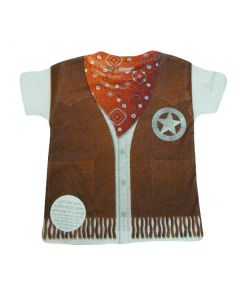 Toddler Sublimated Sheriff Tee