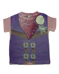 Toddler Girl Sublimated Sheriff Tee