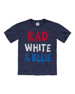 Youth ''Rad White & Blue'' Tee