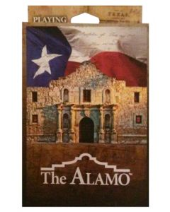 Alamo Collage Playing Cards