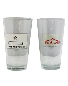 ''Come and Take It'' Pint Glass