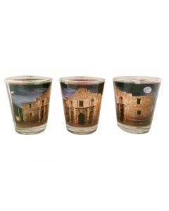Alamo in the Moonlight Shot Glass