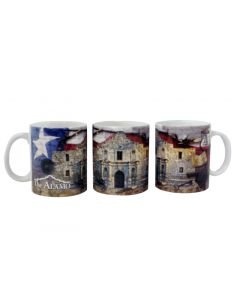 Alamo Collage Mug