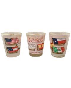 Six Flags of Texas Shot Glass