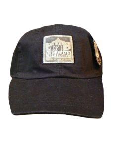 Black | The Alamo Vintage-Look Baseball Cap