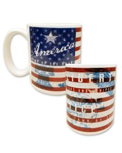Patriotic Mug - Made in the USA