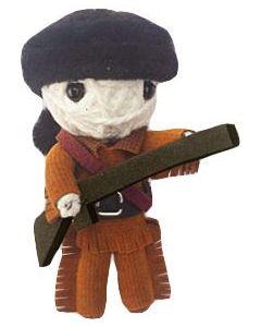 Davey Crockett String Doll