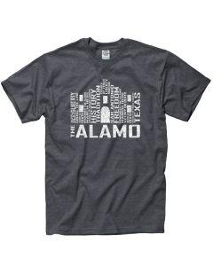 Adult Alamo Typography Tee