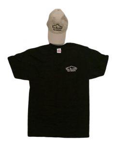 Adult Alamo Cap and Tee Combo (Khaki / Black)